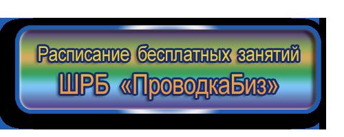 """ШРБ """"ПроводкаБиз"""" расписание бесплатно"""